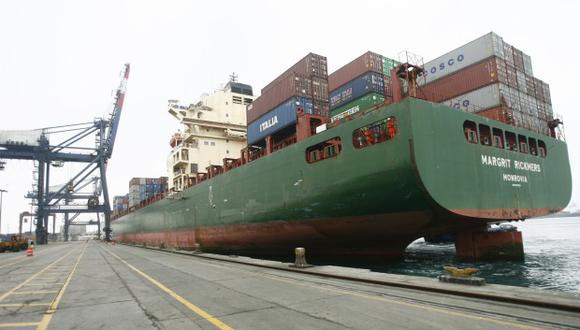 Las exportaciones cayeron 14,4% en el primer trimestre del año.  (Foto: GEC)