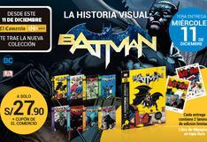 Enciclopedia Visual Batman, la evolución del caballero de la noche.