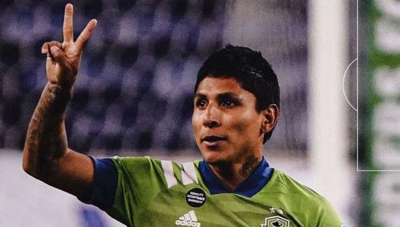 Raúl Ruidíaz colaboró con un doblete en la goleada (4-0) de Seattle Sounders ante Minnesota United. (Foto: Seattle Sounders)