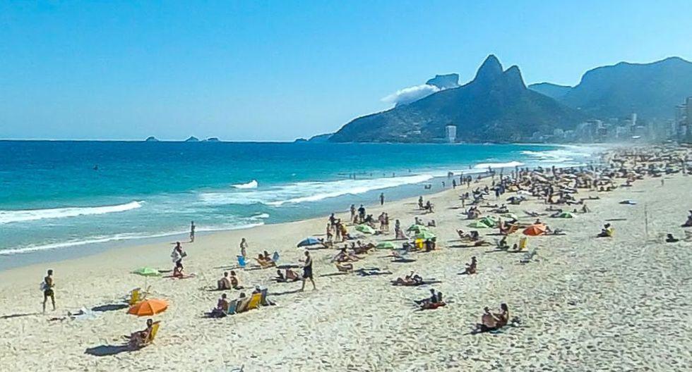 Un usuario de Google Maps encontró a un singular visitante cuando hacía un recorrido virtual por las playas de Ipanema, en Río de Janeiro, Brasil | Foto: Google Maps