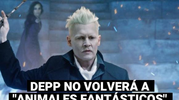 "Johnny Depp will no longer participate in the third installment of ""Fantastic Animals"""