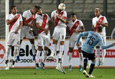 Perú empató 1-1 ante Uruguay en el Nacional de Lima por el amistoso FIFA