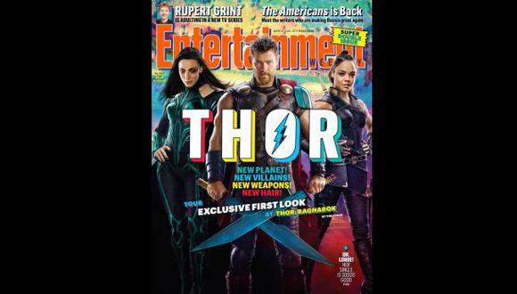 """""""Thor: Ragnarok"""": revelan nuevas fotos de la película"""