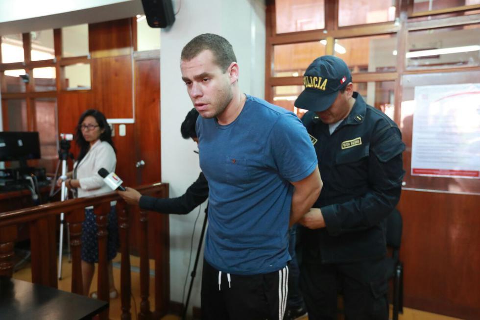 Marco Antonio Martini Mamud (25 años) más del cuádruple del límite permitido de alcohol (0,5 g/l). (Foto: Lino Chipana / El Comercio)