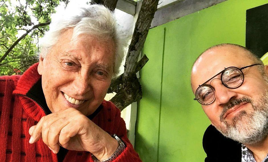 "Osvaldo Cattone en ""Maestra Vida"" con Beto Ortiz (Foto: Difusión)"
