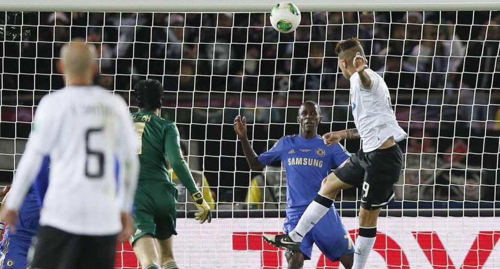 El gol de Paolo Guerrero a Chelsea en el Mundial de Clubes 2012 (Foto: EFE)