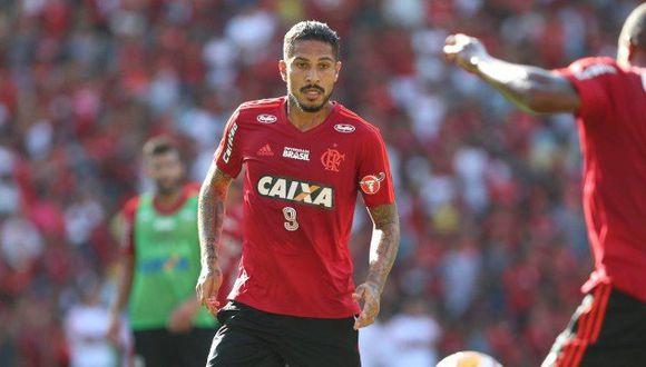 La cúpula de Flamengo solo aguarda que el resultado de la audiencia del TAS sea positivo para retomar las negociaciones con Paolo Guerrero, a quien consideran una pieza indispensable. (Foto: Esporte Interativo)