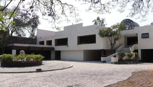 La vivienda de Amado Carrillo Fuentes, conocido como 'El Señor de los Cielos', antiguo líder del Cártel de Juárez. (Captura: Twitter/@IndepOficialMex).