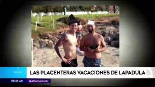 Así son las placenteras vacaciones de Gianluca Lapadula