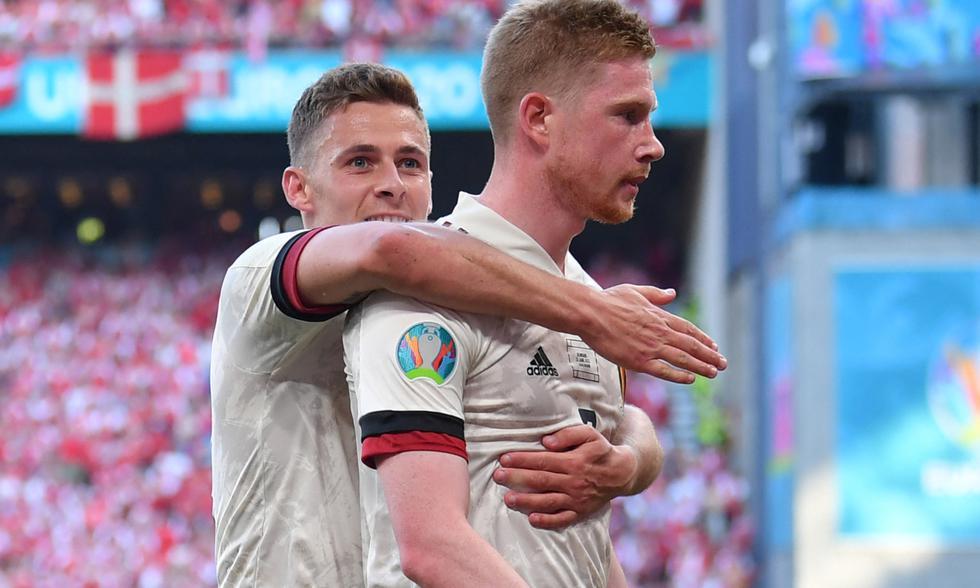 Bélgica vs. Dinamarca: partido por Eurocopa 2021 Foto: AFP