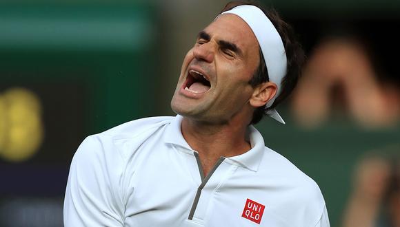 Roger Federer venció a Nadal y clasificó a la final de Wimbledon, donde enfrentará a Djokovic. (Foto: AFP)
