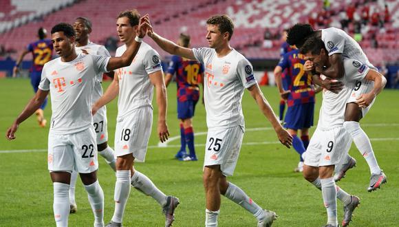Gnabry y Müller anotaron ante el Barza. (Foto: Bayern Munich)