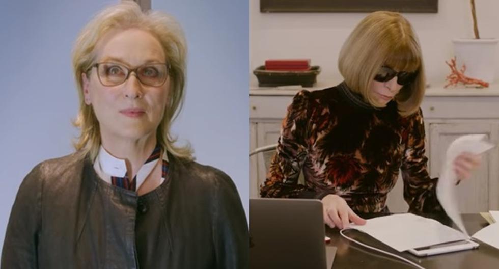Así fue el encuentro entre Meryl Streep y la verdadera Miranda Priestly