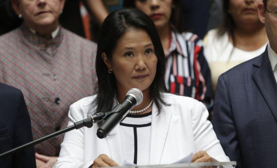 Keiko Fujimori reiteró que la posición de Fuerza Popular será de apoyo para que se lleve a cabo el referéndum. (Foto: Archivo El Comercio / Video: Canal N)