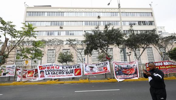 Sacarías Meneses fue una de las personas que vino a Lima junto a una delegación de Ayacucho para expresar su respaldo a Pedro Castillo y esperar los resultados de la segunda vuelta de las Elecciones Generales 2021. (Foto: Joel Alonzo/@photo.gec)