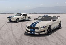 Ford rinde homenaje a su glorioso pasado con el Heritage Edition Package   FOTOS