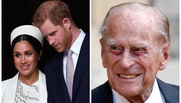 """Mountbatten, el apellido """"repudiado"""" de Felipe de Edimburgo que ahora lleva la hija de Meghan y Enrique. (Foto: AFP)"""