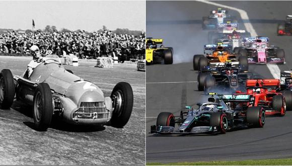 La Fórmula 1 celebrará sus 70 años en el 2020. (Fotos: AFP)