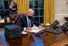 Biden ordena proteger DACA y a los dreamers y detener la construcción del muro en la frontera con México