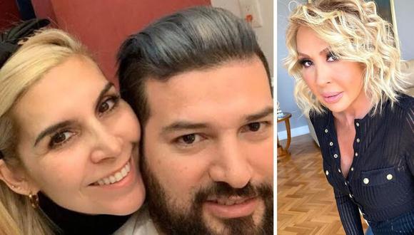 Karla Panini y Américo Garza negaron haber iniciado su romance cuando Karla Luna tenía cáncer. (@laurabozzo_of / @americo_ige).