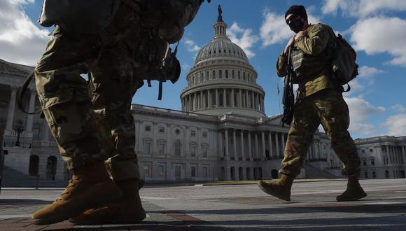 Capitolio de Estados Unidos: El Pentágono extiende la militarización del  Congreso hasta el 23 de mayo | USA | MUNDO | EL COMERCIO PERÚ
