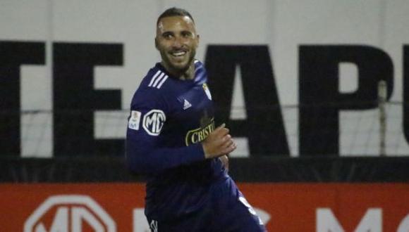 Emanuel Herrera lleva los 12 goles en la Fase 1 de la Liga 1. (Foto: @LigaFutProf)