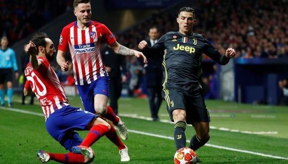 Según The Sun, Cristiano Ronaldo y algunos jugadores de la Juventus se fueron de fiesta tras perder ante Atlético de Madrid por los octavos de final de la Champions League. (Foto: AFP).