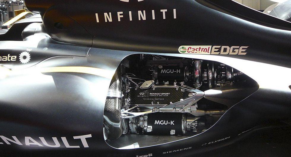 2. Ahora los monoplazas de la Fórmula 1 contará con tres componentes de MGU-K para disputar los 21 escenarios de la competencia.