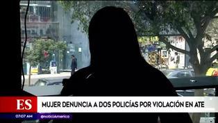 Mujer denuncia que fue dopada y violada por agentes de la PNP