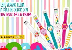 Relojes Agatha Ruiz de la Prada, este verano llena tus días de color.