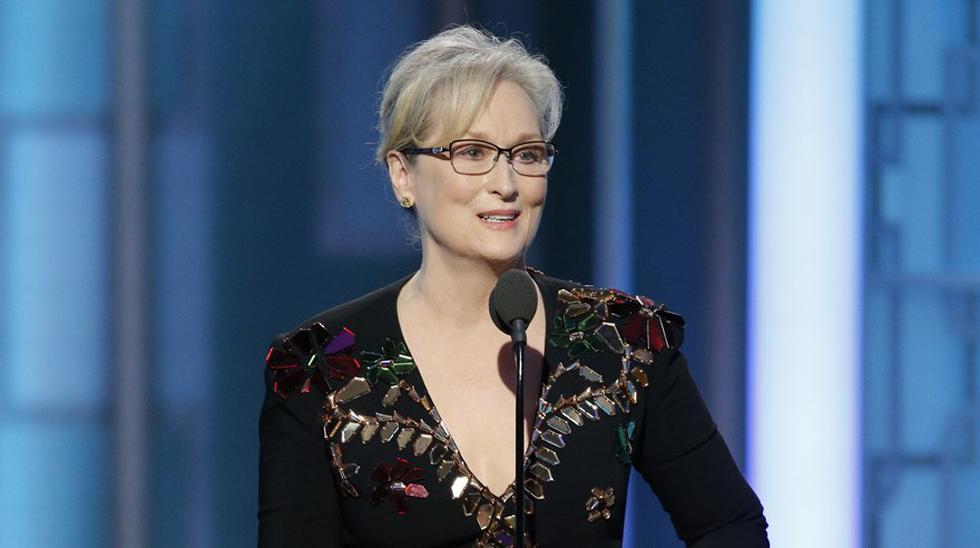 Oscar 2017. La nominada Meryl Streep cumplirá 68 años en junio. (Captura: AP)