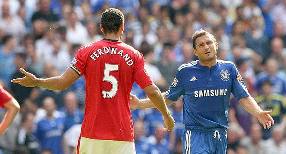 Rio Ferdinand y Frank Lampard crecieron en las divisiones inferiores del West Ham. Una vez que fueron fichados por otros clubes se rompió la comunicación. ¿A qué se debió? (Foto: AP)