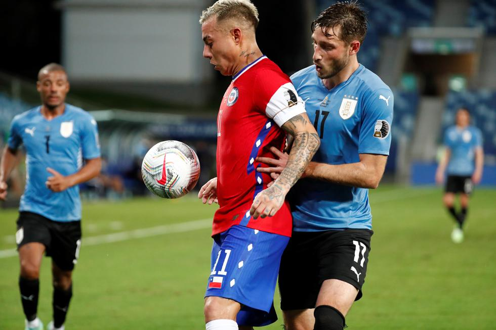 Chile enfrentó a Uruguay por la Copa América 2021