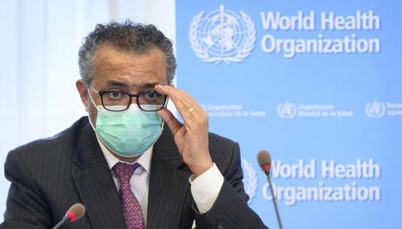 Tedros Adhanom Ghebreyesus, director general de la OMS. (Foto: LAURENT GILLIERON / POOL / AFP).