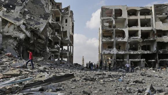 """La ONU promete reconstruir Gaza """"por última vez"""""""