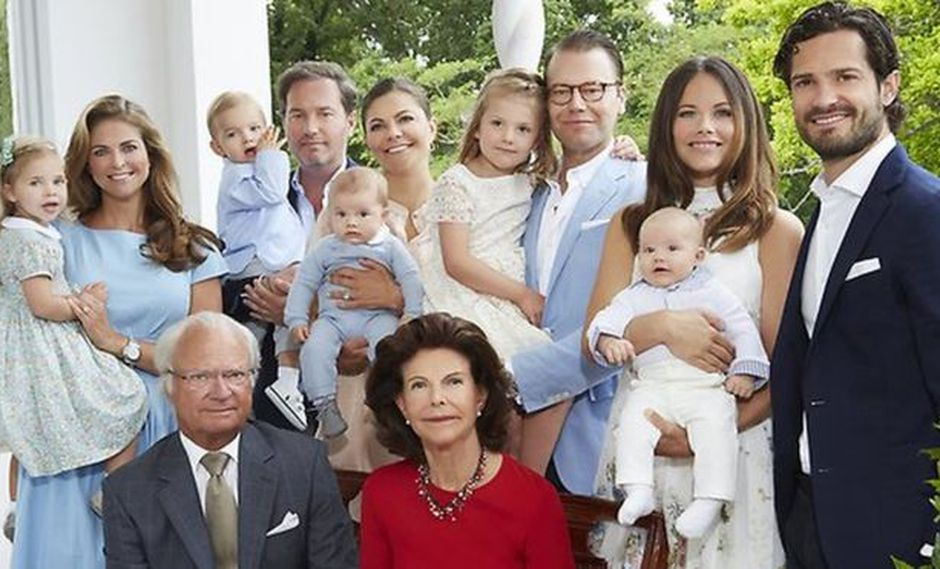 El anuncio marca un gran cambio para la casa real sueca. (Foto: ROYAL COURT OF SWEDEN, vía BBC Mundo).