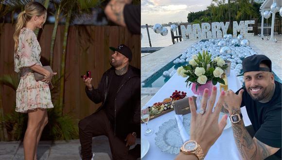 Nicky Jam: así es Cydney Moreau, la nueva prometida del reguetonero  (Foto: Instagram)