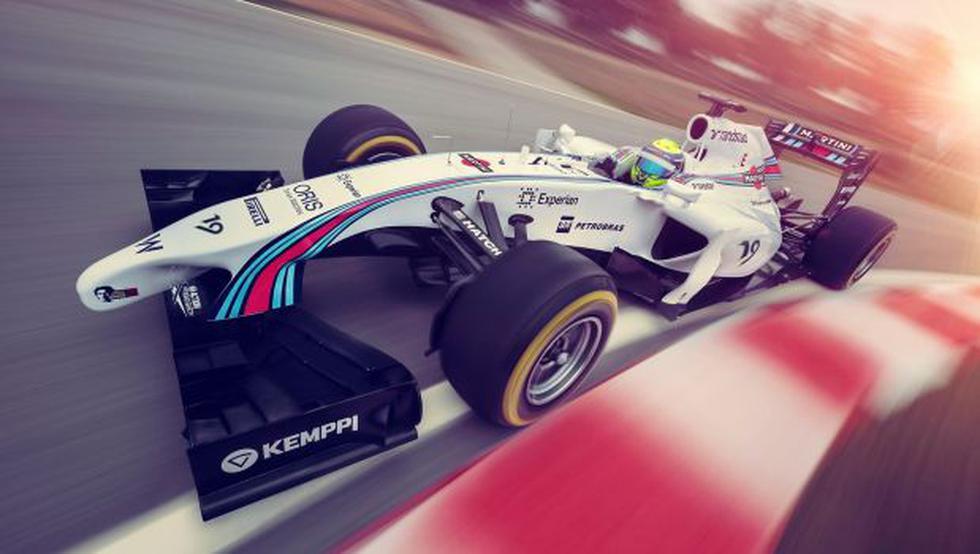 Martini vuelve a la Fórmula 1 como auspiciador de Williams - 2