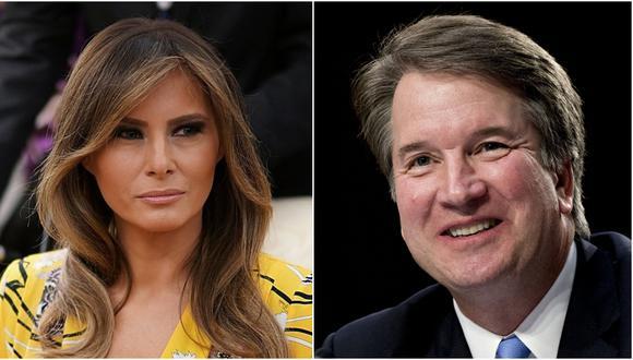 """Melania Trump considera al polémico juez Brett Kavanaugh  """"muy cualificado"""" (Foto: EFE/Bloomberg)"""