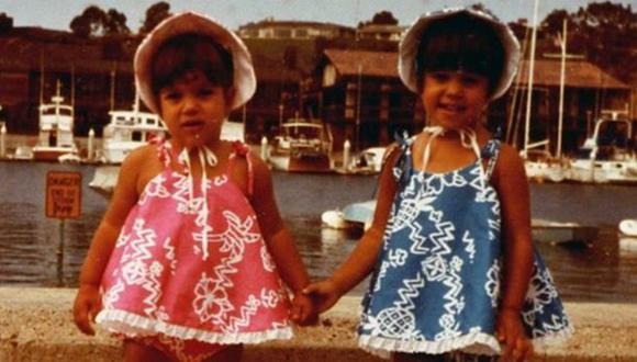 Kim y Kourtney Kardashian juntas en adorable recuerdo infantil