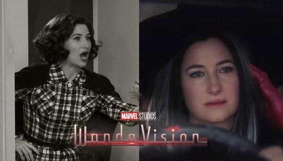 """Kathryn Hahn interpreta a Agnes, vecina de la pareja heroína en """"WandaVision"""". (Foto: Marvel)"""