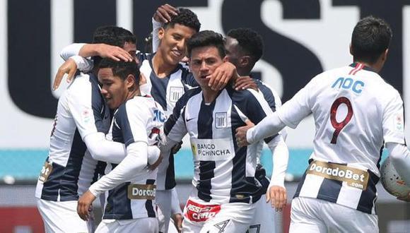 Alianza Lima no logra ganar, pero sus juveniles le salvaron el partido ante Melgar. (Foto: Liga 1)