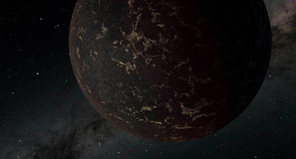 La ilustración de este artista representa el exoplaneta LHS 3844b, que es 1.3 veces la masa de la Tierra y orbita una estrella enana M. (Foto: NASA / JPL-Caltech / R. Daño)
