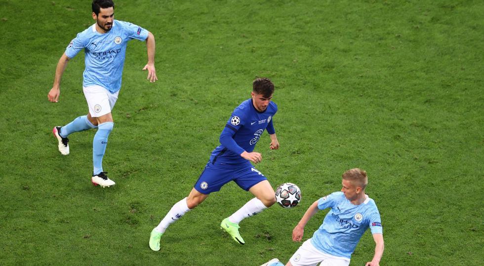 Manchester City enfrentó al Chelsea por la final de la Champions League