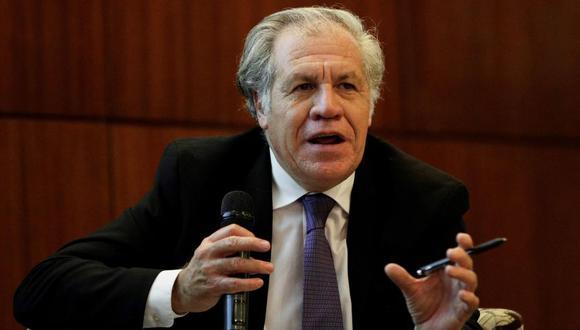 Luis Almagro es el secretario general de la Organización de los Estados Americanos (OEA). (Foto: EFE)