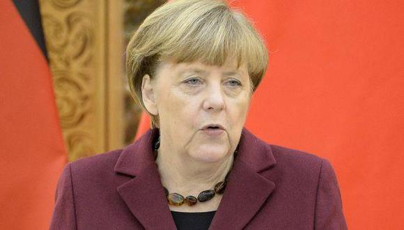 """Merkel: UE es """"suficientemente fuerte"""" para soportar el Brexit"""
