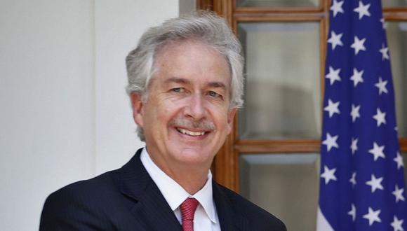 William Burns ha sido embajador ante Rusia y Jordania, en una carrera de 33 años en el Departamento de Estado que abarcó gobiernos demócratas y republicanos. (AP Photo/Saurabh Das).
