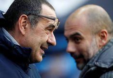Manchester City vs. Chelsea: Maurizio Sarri explicó por qué no dio la mano a Pep Guardiola