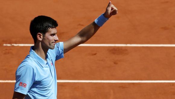 Novak Djokovic venció a Gulbis y jugará final de Roland Garros