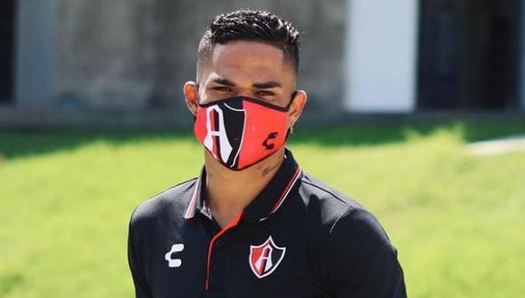 Anderson Santamaría volvió a los entrenamientos este jueves en Atlas (Foto: Instagram)